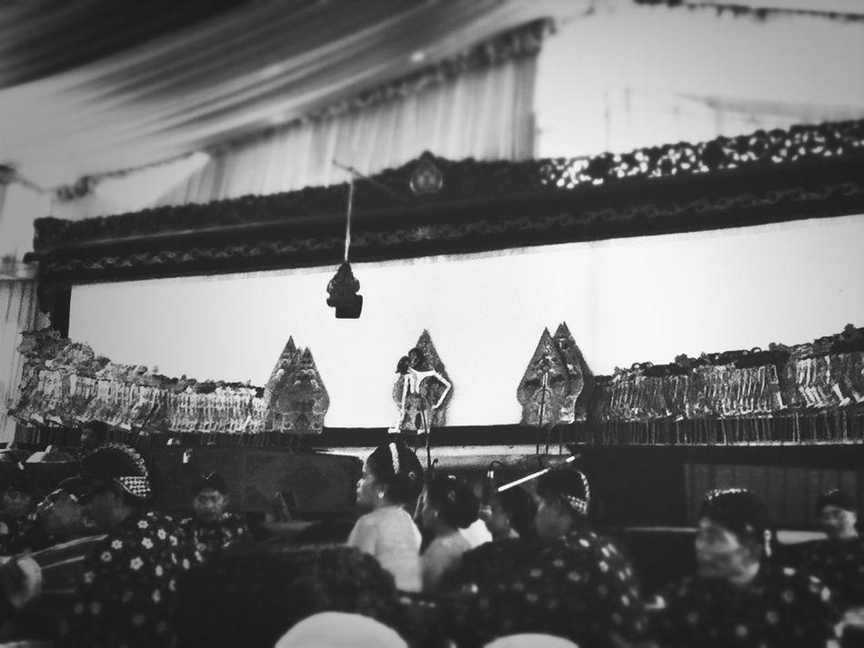 Puppet Show Set Javanese Wedding