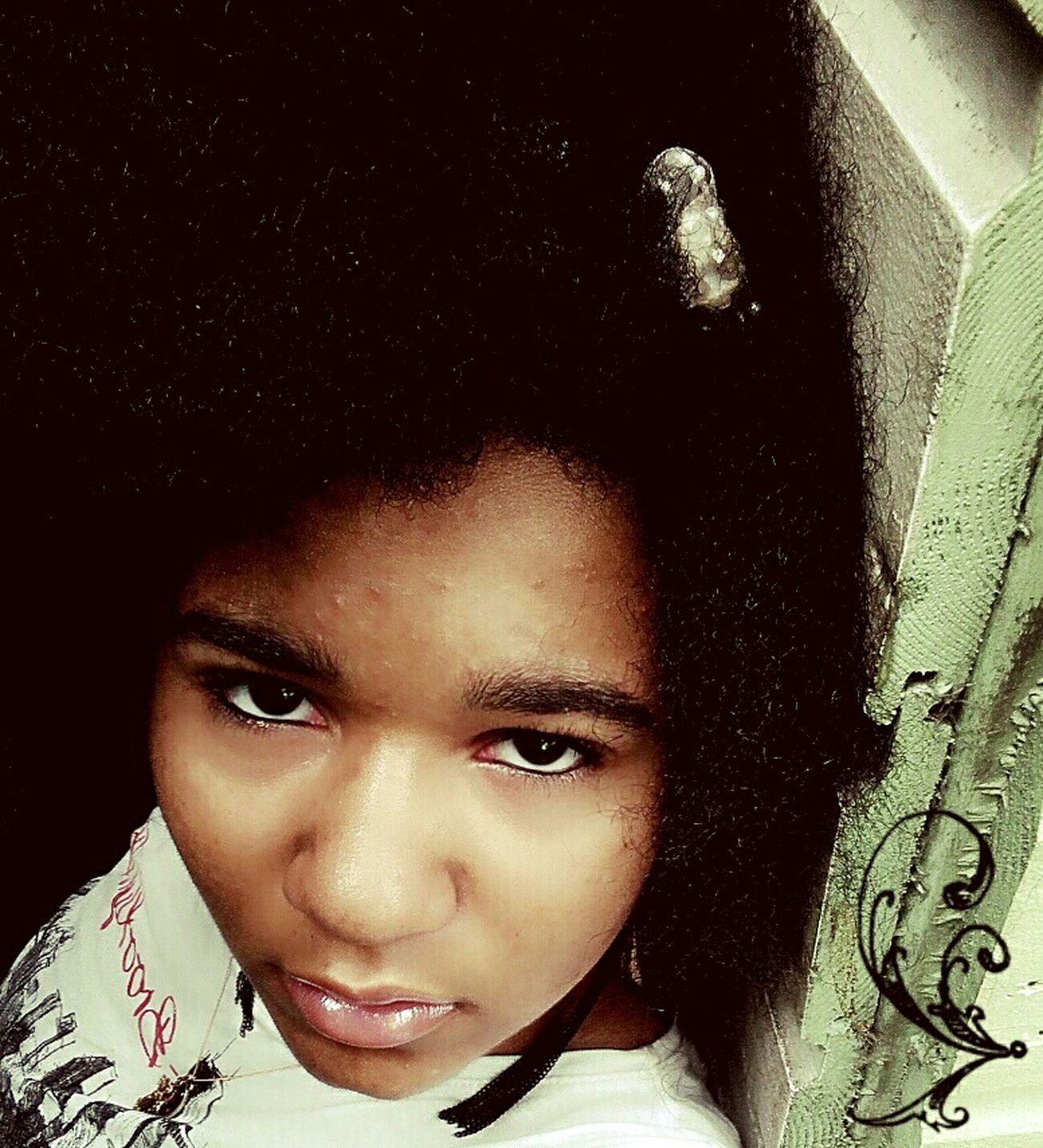 Beautifulandyounggirl Lightmakeup Selfie Nohairdressing