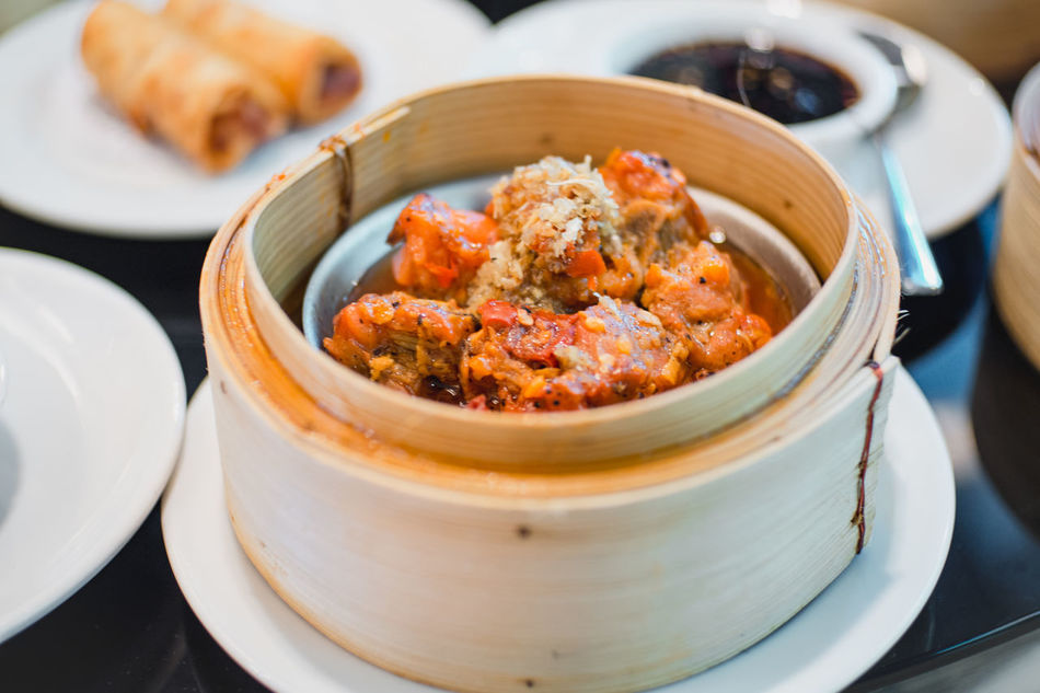 Beautiful stock photos of healthy eating,  Appetizer,  Bamboo - Material,  Bowl,  Chinese Dumpling