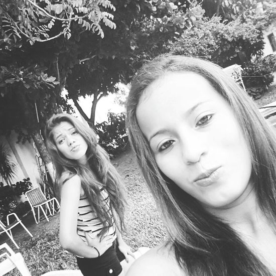 Sisters ❤ Crazy Moments Fashion Hair