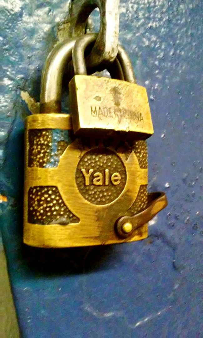 Padlock Double Padlock Yale Notes From The Underground