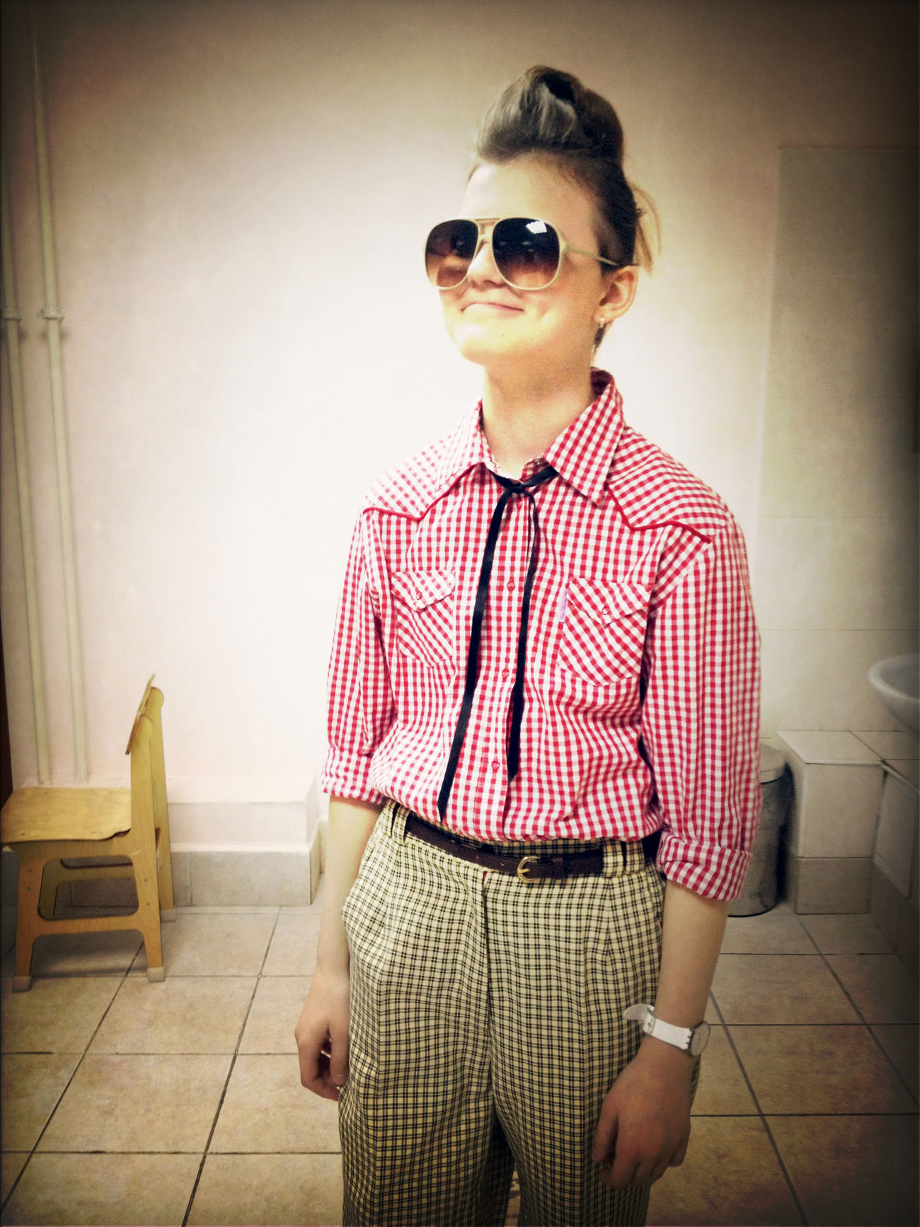 BEAUTIFUL NASTYA! Crazy Scientist, you're amazing in this clothes and with this hairstyle! :)