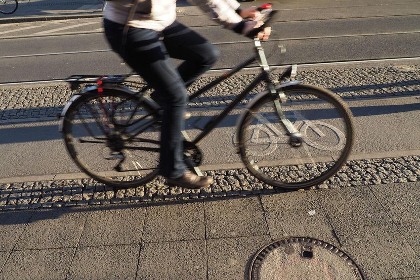 Bicycle Bike Lane Biking Bycicle Bycicle Lane Cycling Cyclingphoto Fun Leisure Activity Lifestyles Real People Road Street Transportation Transportation Urban