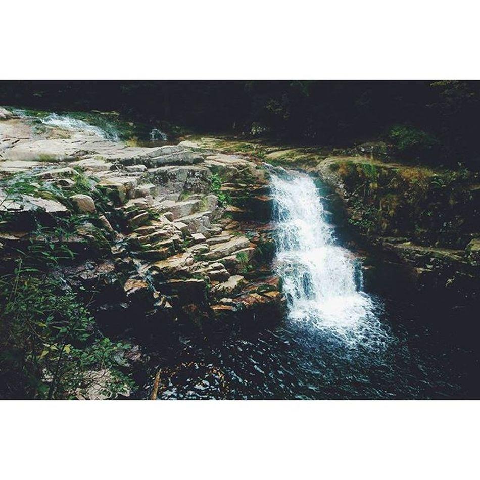 Tůruju... Krkonose Mountains Water River waterfall czechrepublic czech nature outdoors outdoor adventure tourism tourist trip bilelabe hitchike hitchhiking hike vscocze vsco vscocam
