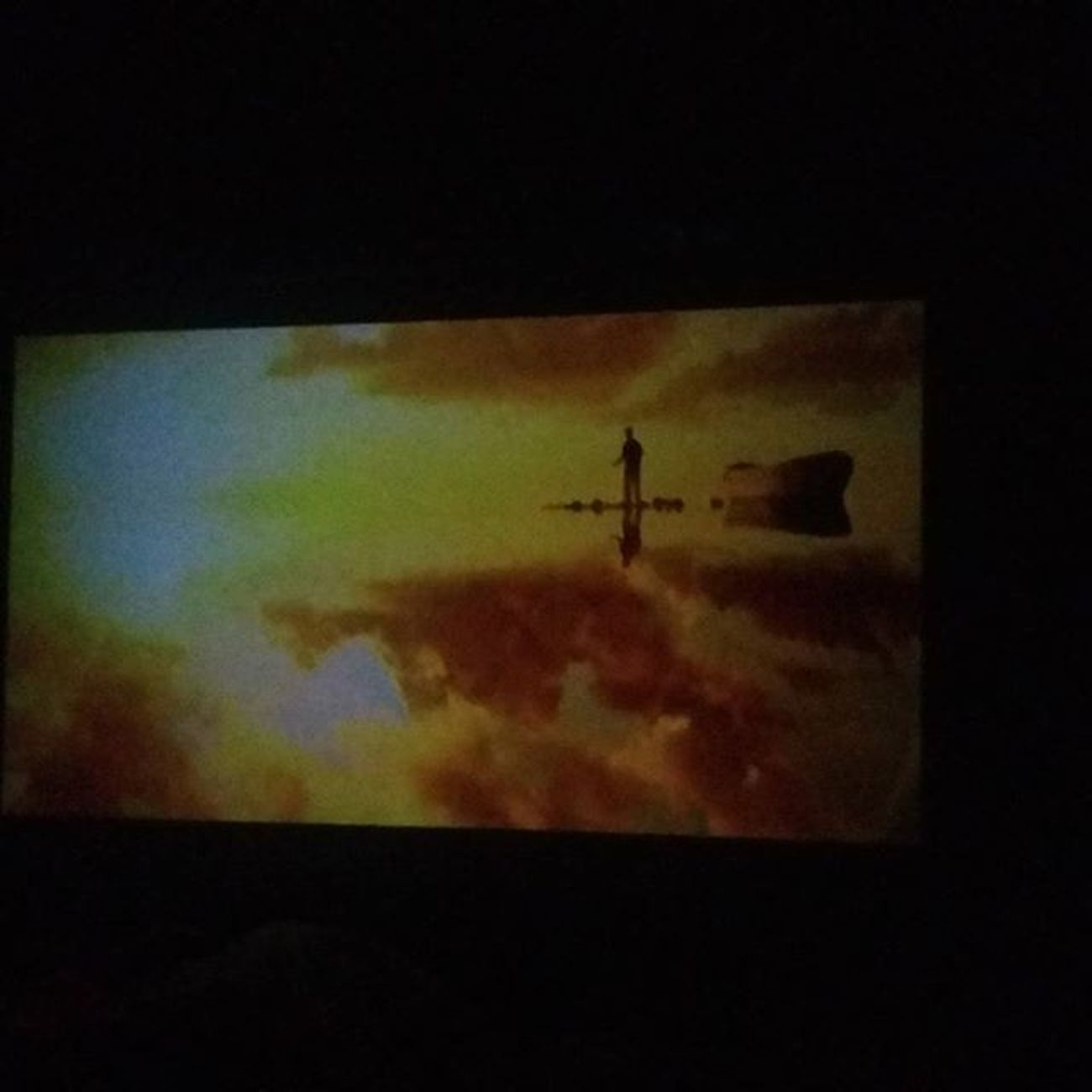 "My new 2K xinda projector Muma 'sgift Blackfriday Homecinema Xinda 70 ""screen"