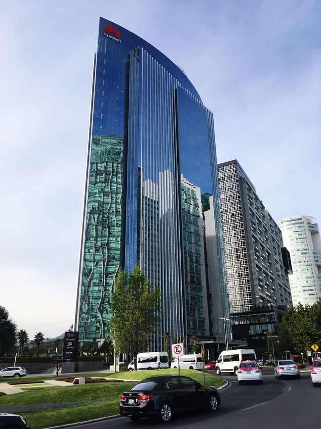 Coajimalpan Santafe Torre Edificio Sky Cuidad De Mexico City Travel Destinations Huawei