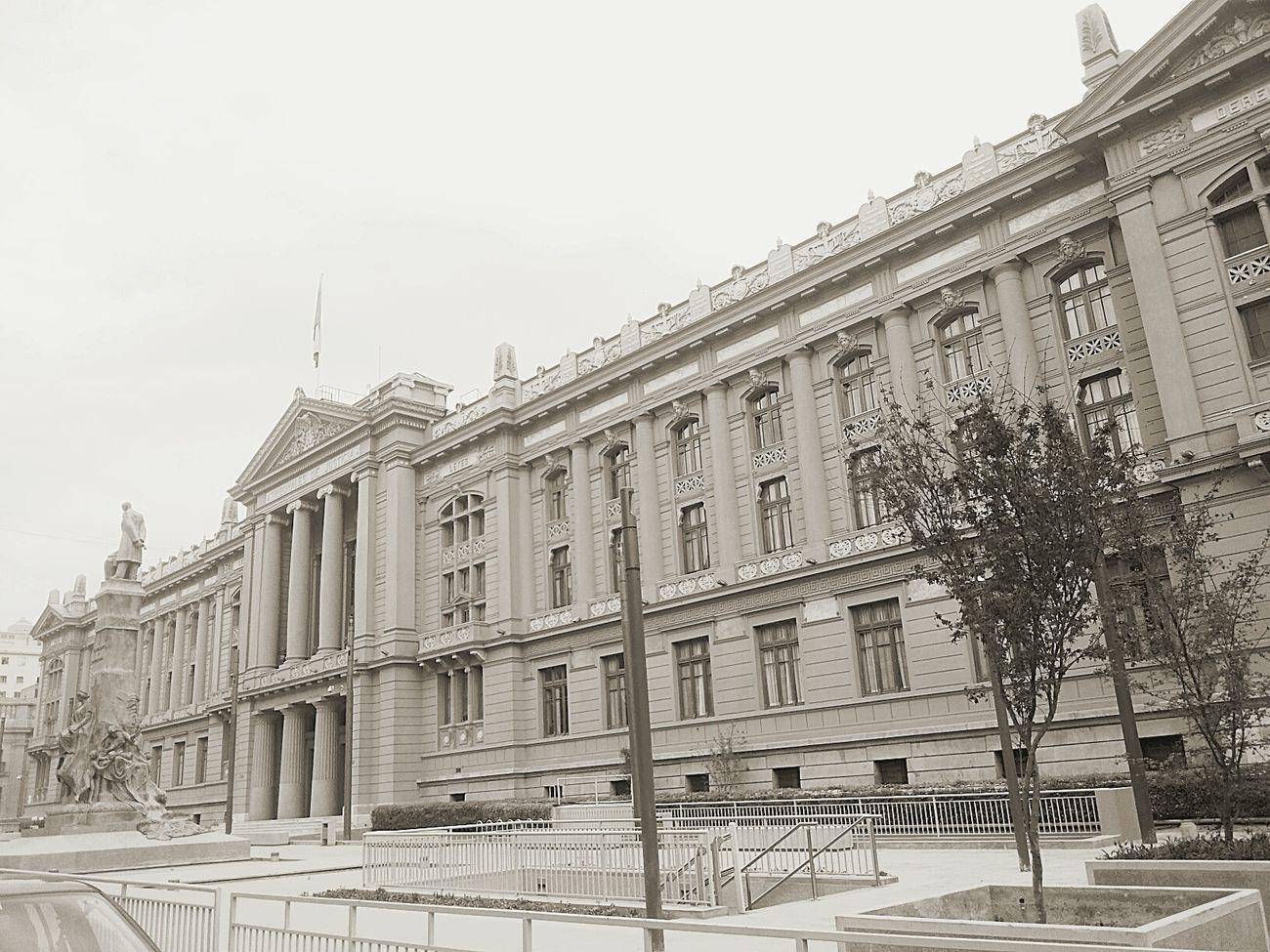 Historical Monuments Santiago De Chile Tribunalesdejusticia 1930s Arquitectura Antigua Espectacular