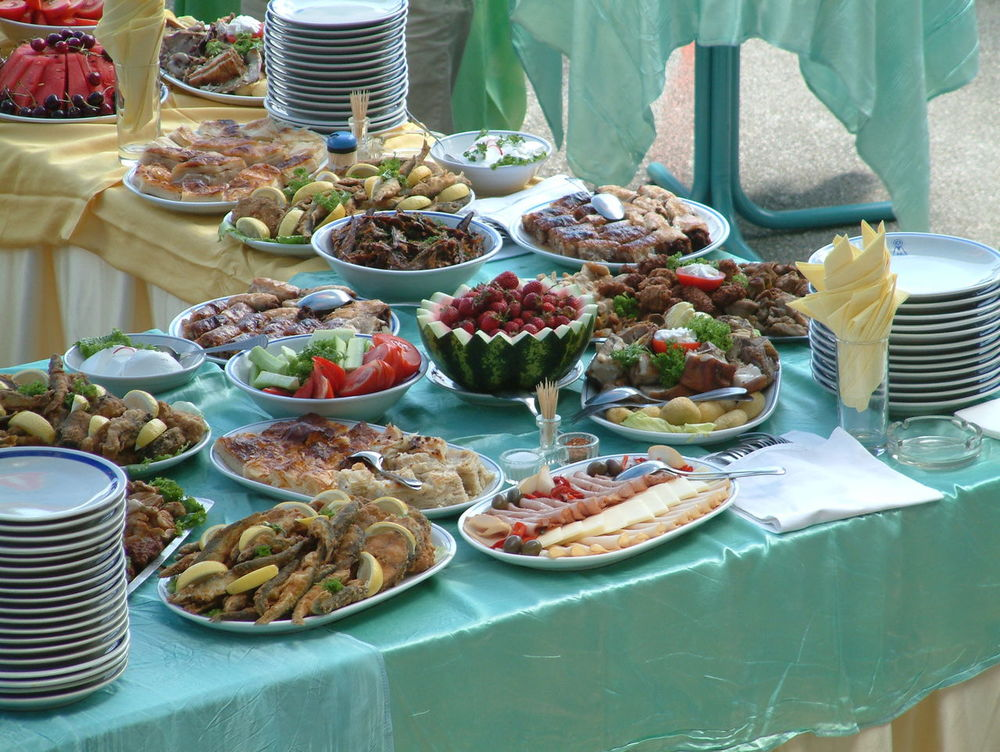 well decorated catering food Bakery Breakfast Catering Catering Food Catering Service Cheese! Food Decoration Fruits Meal Party Pastry Reception Sea Food Vegetables