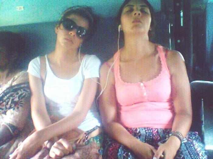 Girls Sleeping Lookingup Funny