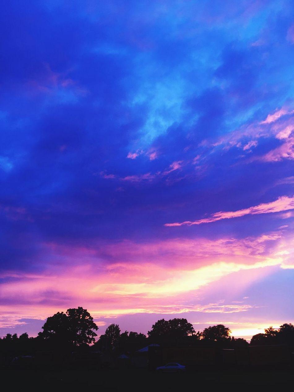 Steam fair Sunset Tooting Bec Common