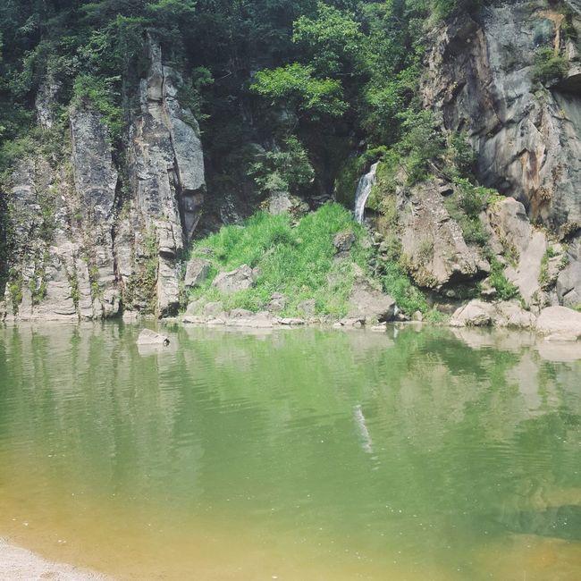 Traverl River Beautiful Green south korea's Hantan River♡ so beautiful!!