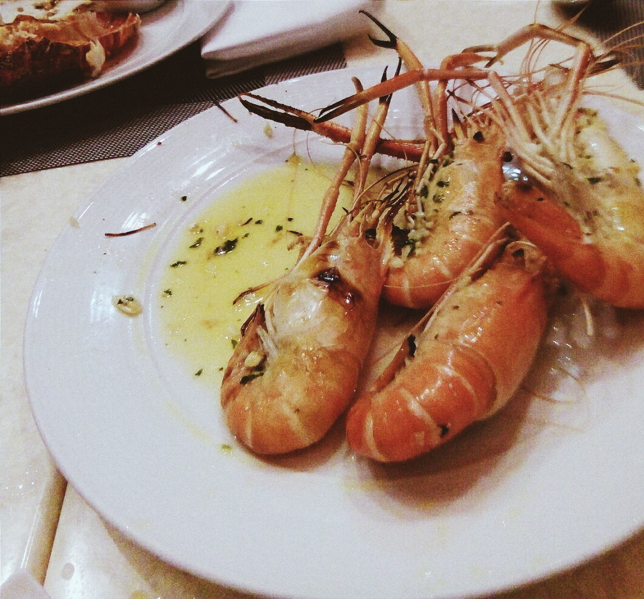 At New World Hotel. Buffet Shrimps Vscocam Relaxing Family Hanging Out