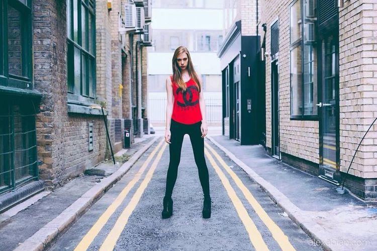 Street Fashion shoot @ East London. Alexabian.com Portrait Model Fashion