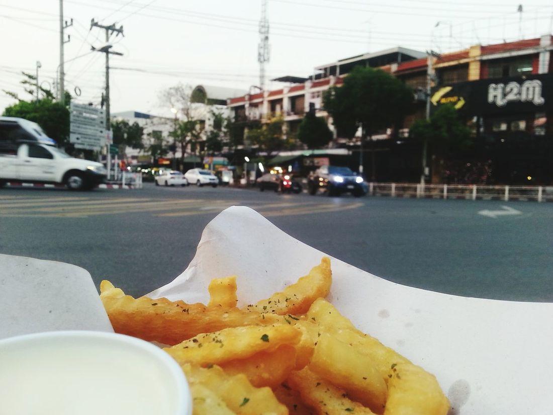Food French Fries Bangsean Thailand