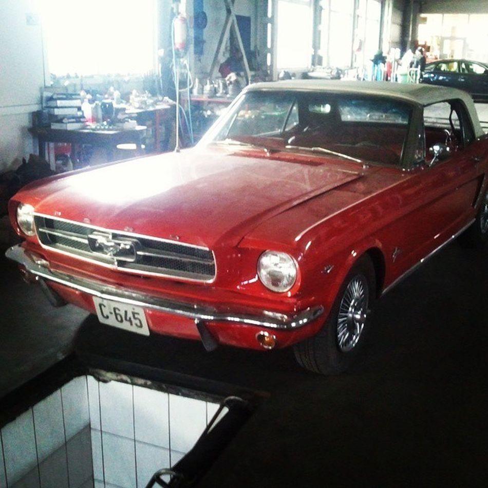 An old Ford Mustang. Fordmustang Mustang Oldmustang Oldcar