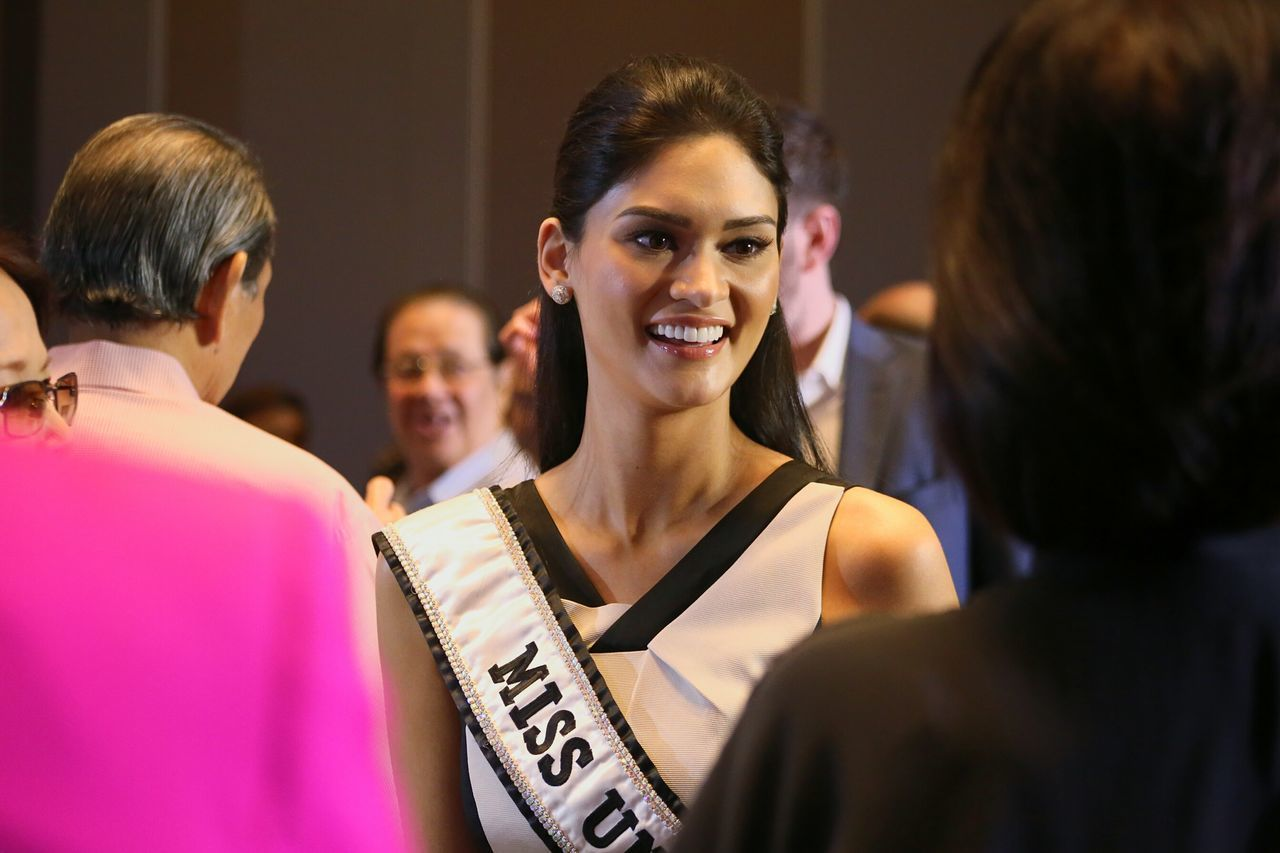 Pia Wurtzbach Miss Universe 2015 Beauty Queen Philippines