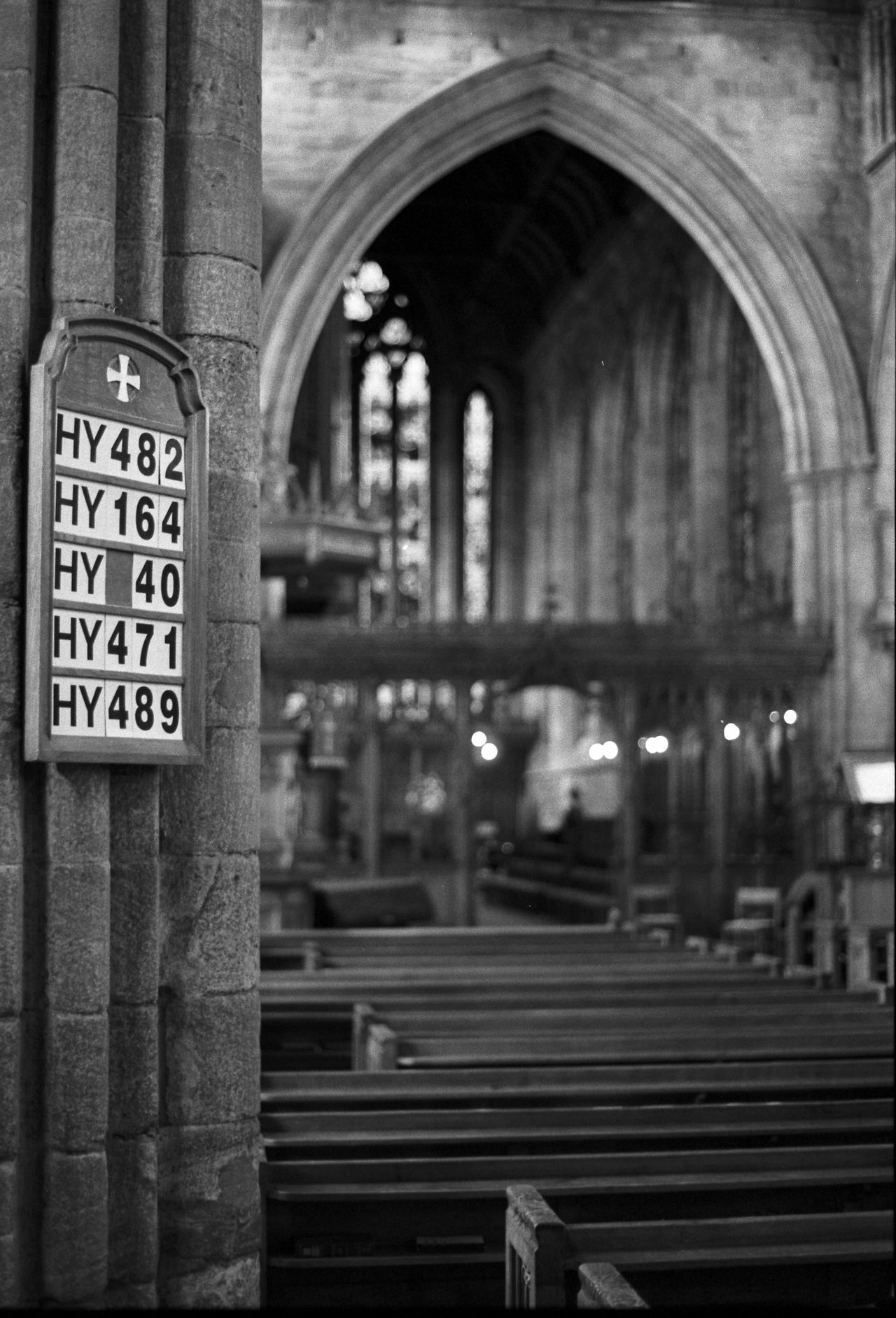 Arch Architectural Column Architecture Christianity Dunblane Cathedral Hymns Pews Religion