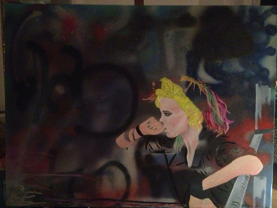 New Painting In Progress