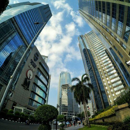 Building Cityscape Architecture Jakarta