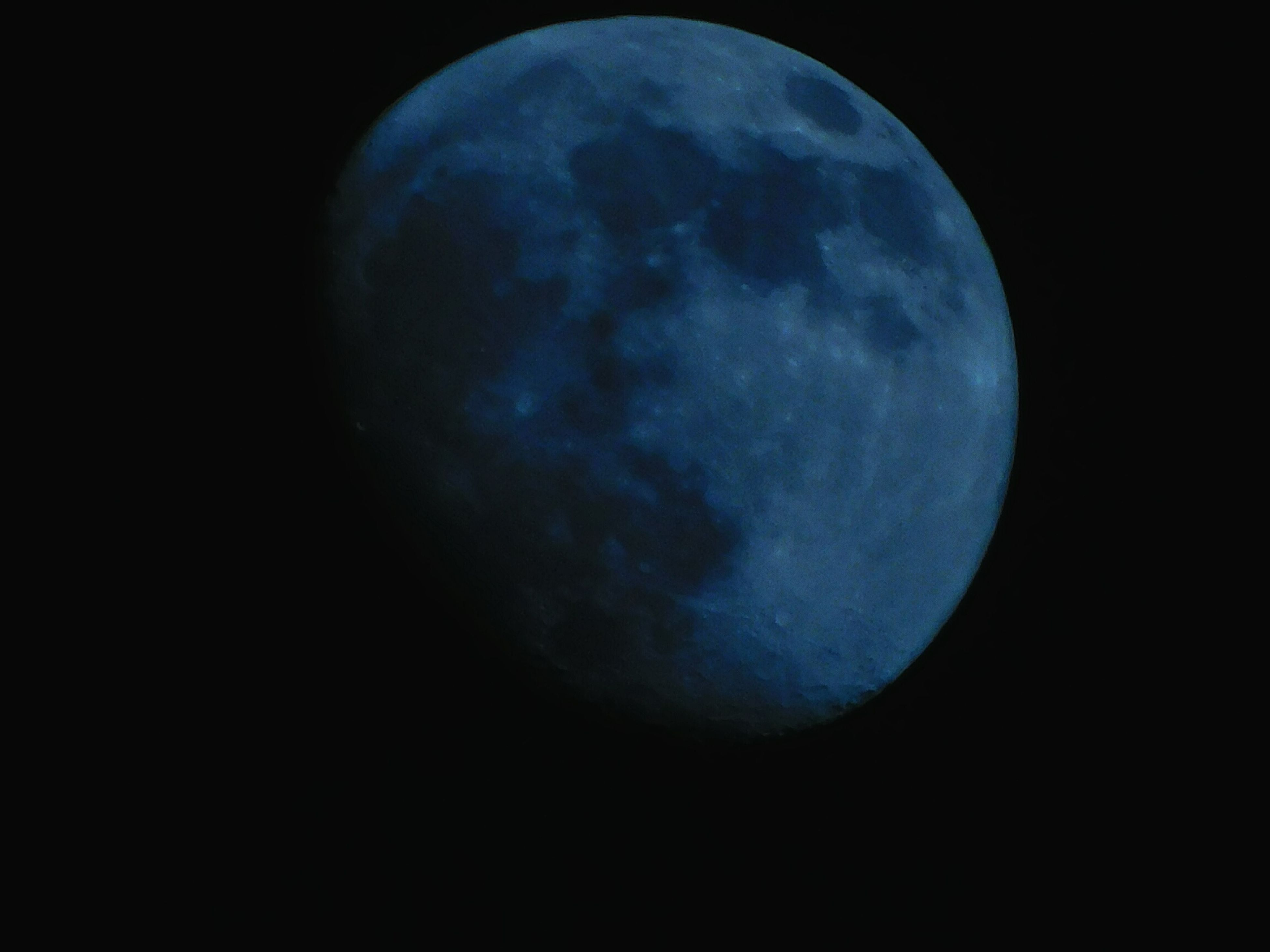 night, blue, nature, moon, astronomy, beauty in nature, no people, tranquility, outdoors, scenics, space, moon surface, black background, satellite view