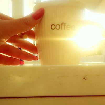 Just in time to kiss the sun goodbye ? Sunset Perfect Beautiful Sun coffee abudhabi uae albateen ♡