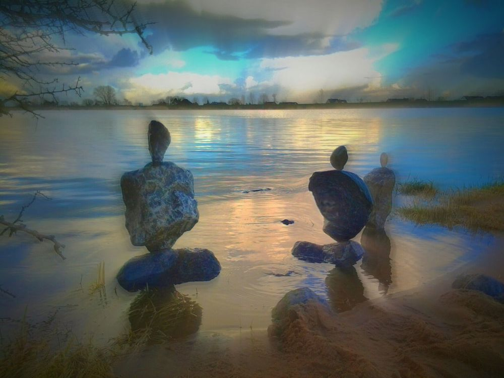 Rock Art Balancing Rocks My Artwork Hobbies Changing Landscapes Stone Art love to play with rocks Showcase March https://youtu.be/vswc7xB0V6c