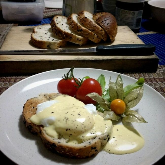 Eggs benedict. The EyeEm Breakfast Club Food Porn