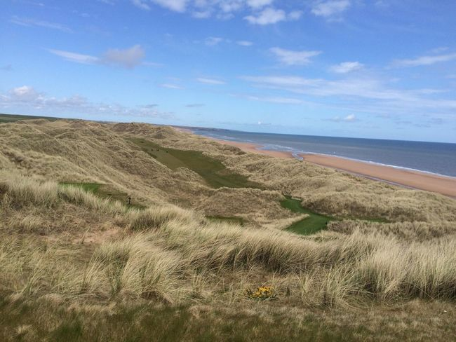Scottish Links Golf Golf Golfcourse Trump International Scotland where's the fairway?