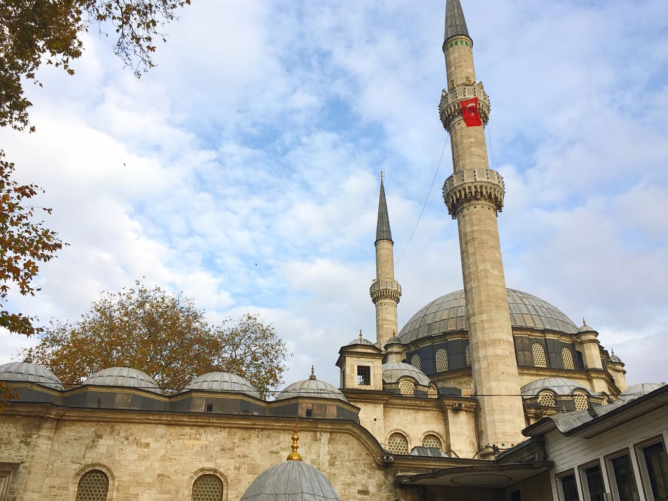 Religion Architecture Spirituality Built Structure Place Of Worship Building Exterior Sky Low Angle View Travel Destinations Dome Outdoors Day No People Travel Turkey Journey Byme Mosque Eyup Sultan Cloud - Sky Blue Sky