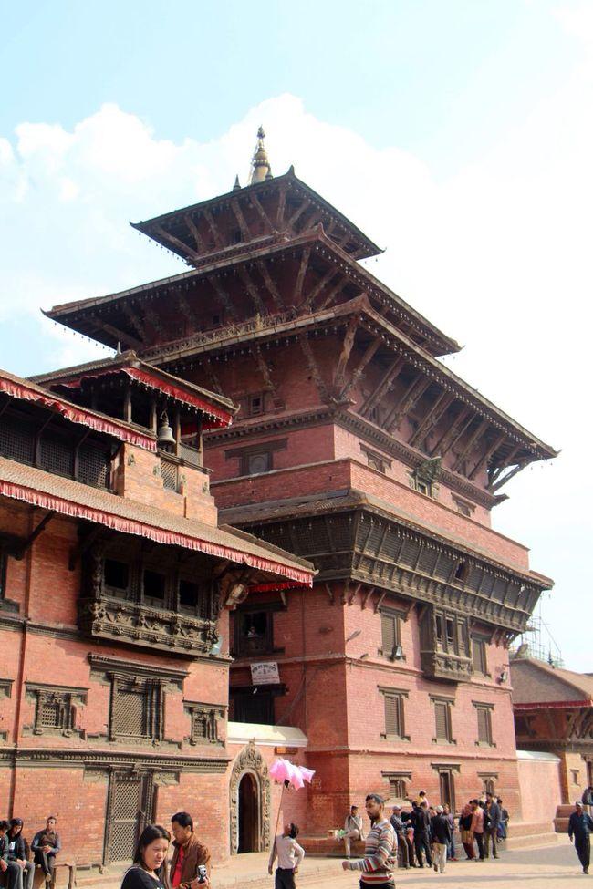 Patan Durbar Square Pagoda Temple Nepal World Heritage Palace King Ancient Architecture Pagoda