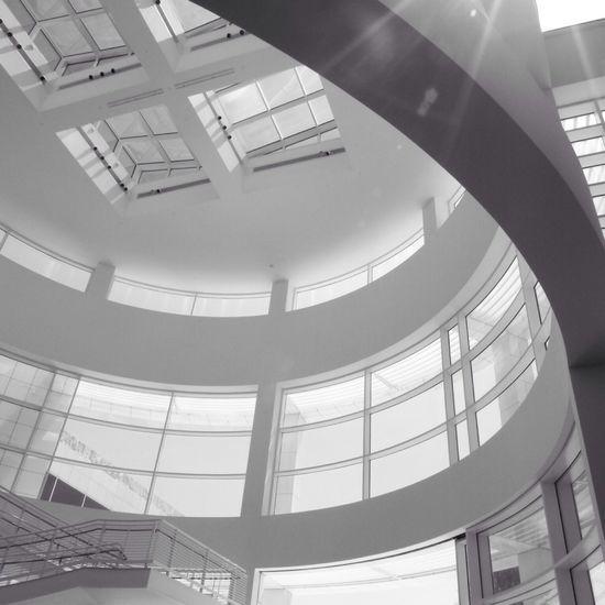 Architecture Black And White The Getty Center