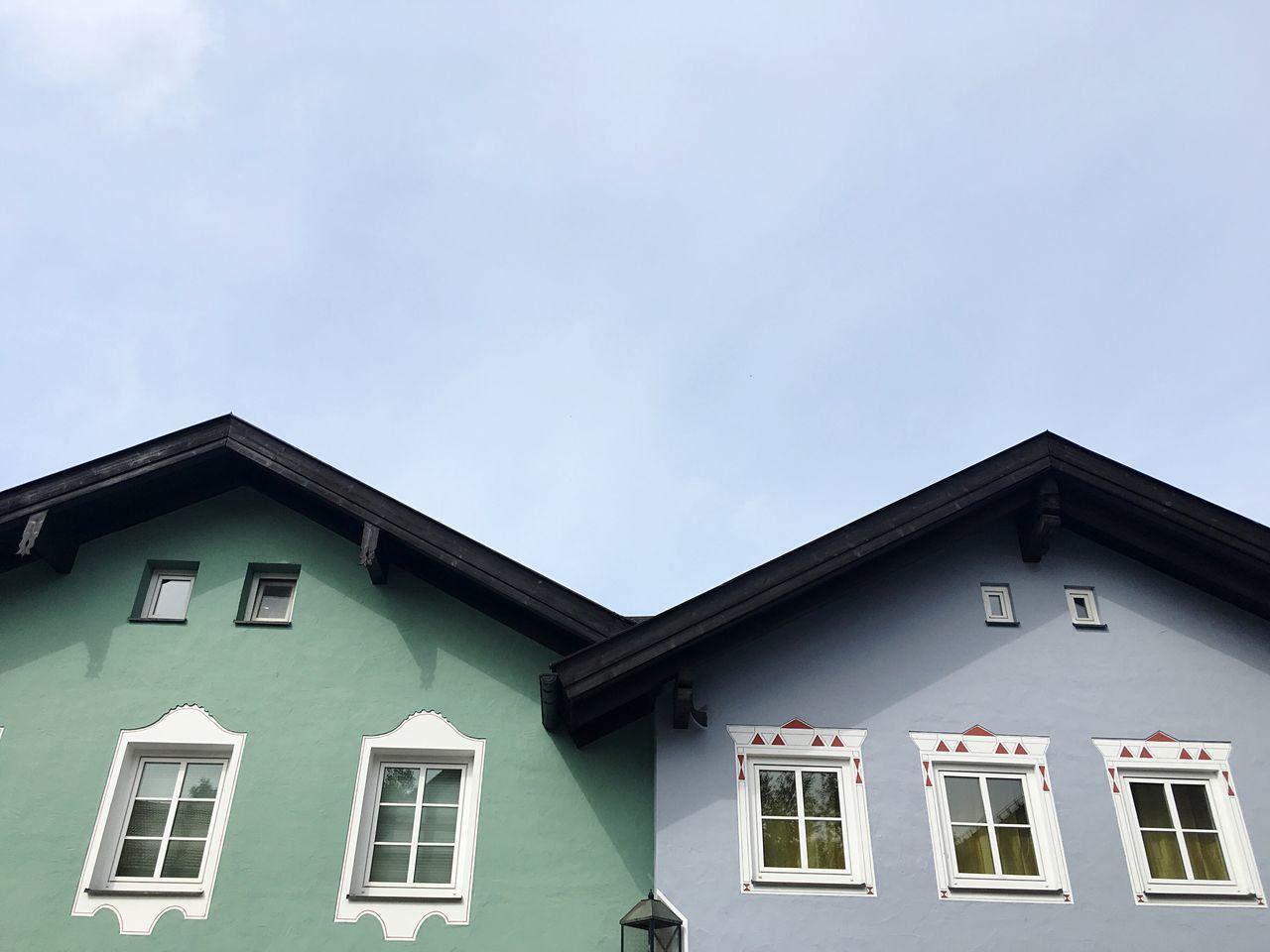 Bad Tölz Bavaria Bavarian Houses Bavarian Architecture Built Structure Coloured Houses