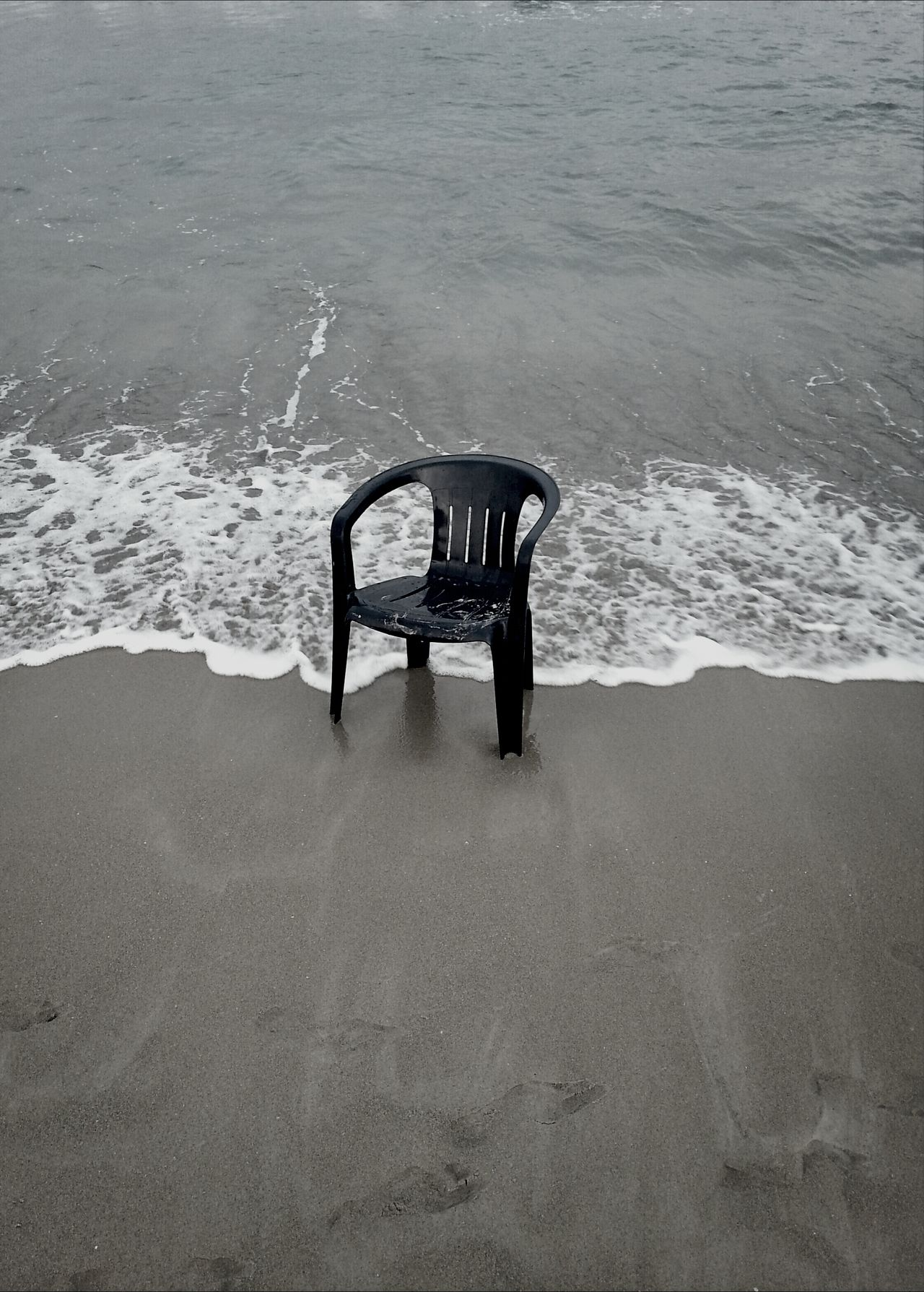 Beautiful stock photos of black, Absence, Beach, Black, Chair