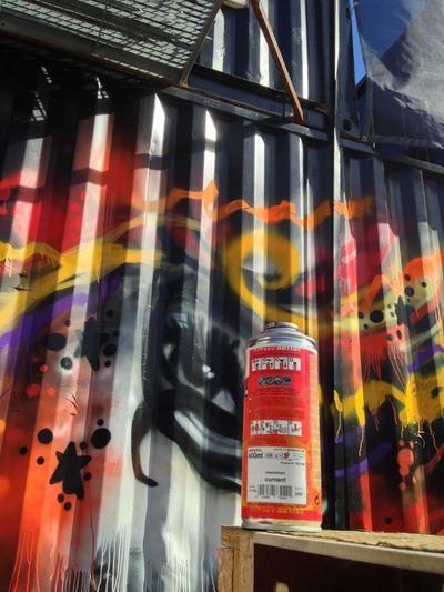 Anders teaching graffiti