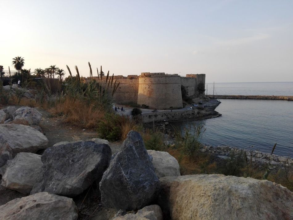 Beach Day Kyrenia Harbor Nature No People Outdoors Sea Sky Water