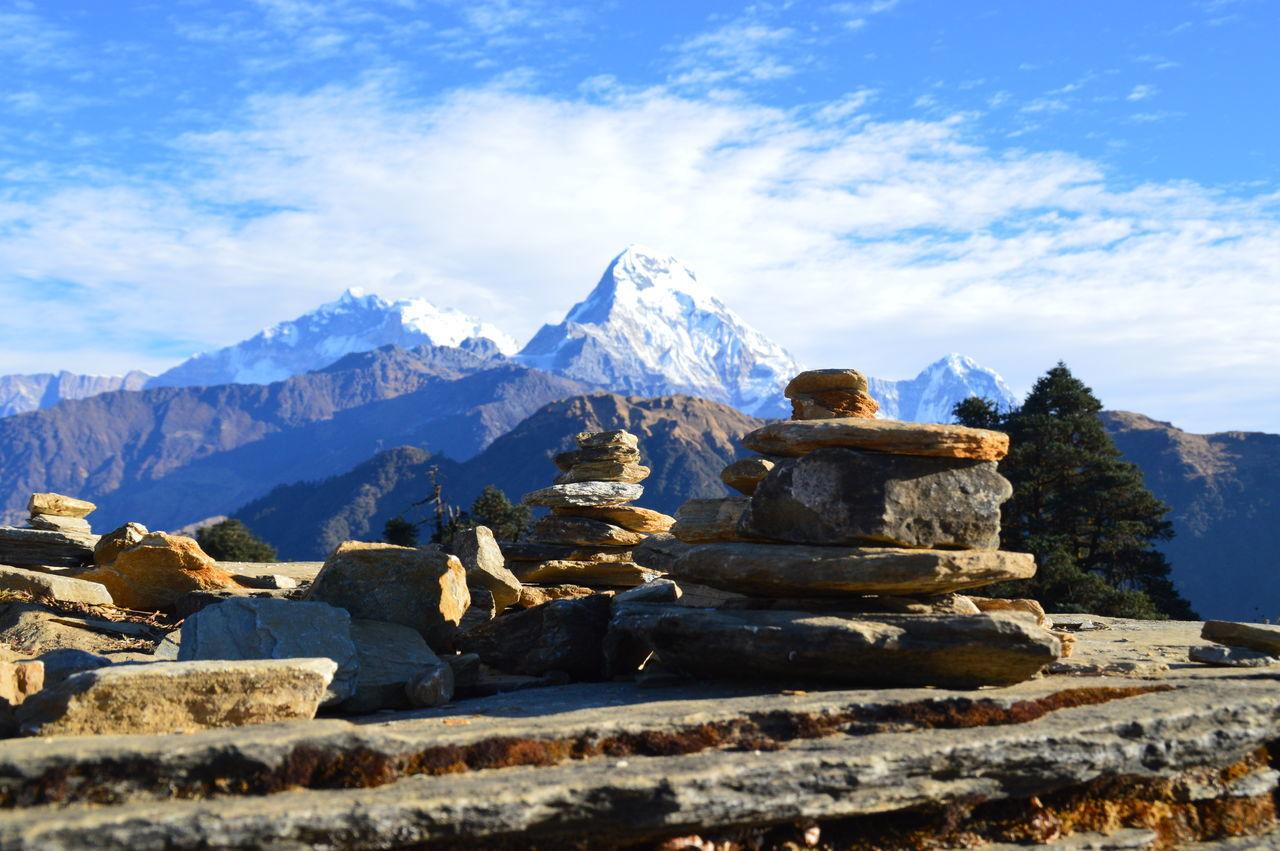 Beautiful stock photos of annapurna,  Annapurna Conservation Area,  Annapurna Range,  Beauty In Nature,  Blue