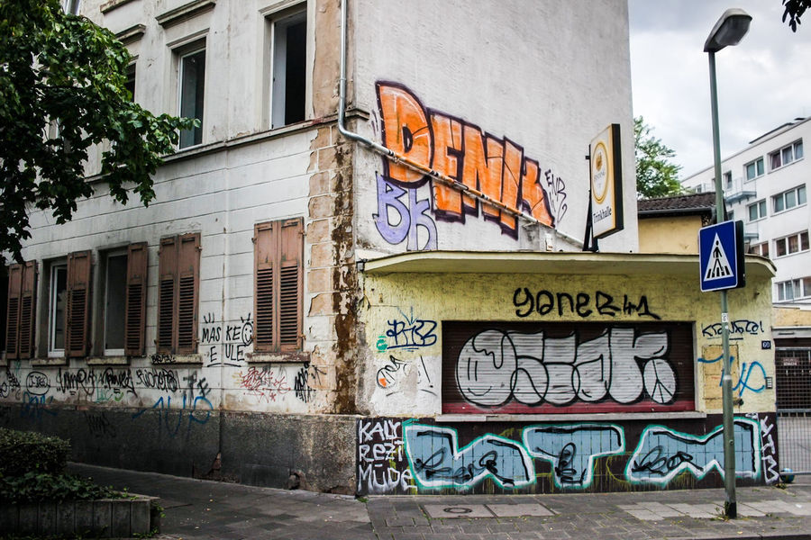 Architecture Building Exterior Built Structure City Graffiti No People Outdoors Street Art