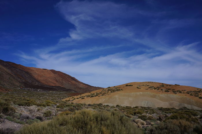 Desert Landscape Cloud - Sky Outdoors Mountain Nature No People Sand Dune Outdoor Pursuit Sky Day Tranquility Tenerife Volcano Teide National Park