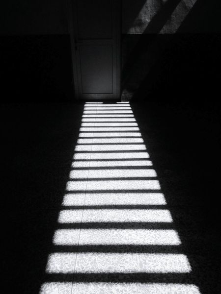 Light lines. Shadow The Way Forward Sunlight Dark Indoors  No People Day Architecture Black & White Black And White Photography Blackandwhite Lines Shadows & Lights Blackandwhitephotography Shadows Light And Shadows Pattern