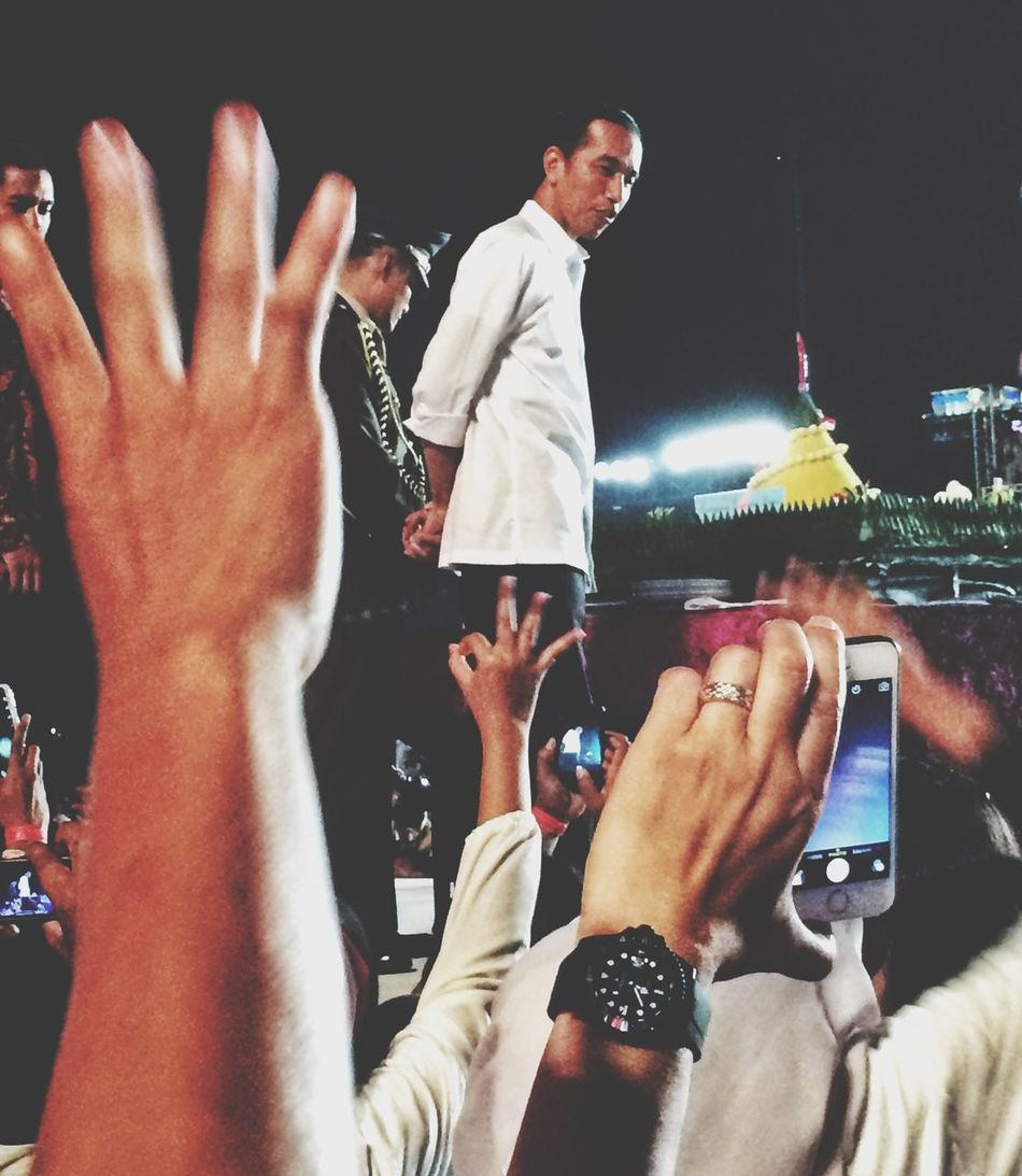 What Does Freedom Mean To You? When we have a new leader and a new hope for our country, and now we have a new leader, he is President Jokowi Presidential Inauguration INDONESIA