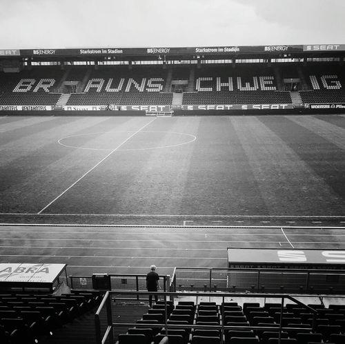 Yesterday was the last day of the season Soccer Football Game Bundesliga Stadium Brunswick Braunschweig