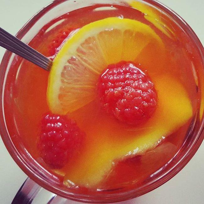 Teatime Lemon Mango Rapsberries