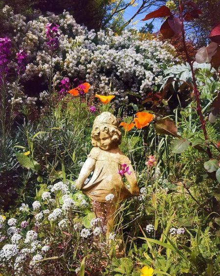 HuaweiP9 Phonephoto New Zealand Porirua Spring Statue Garden Jardin Printemps Garten Frühjahr