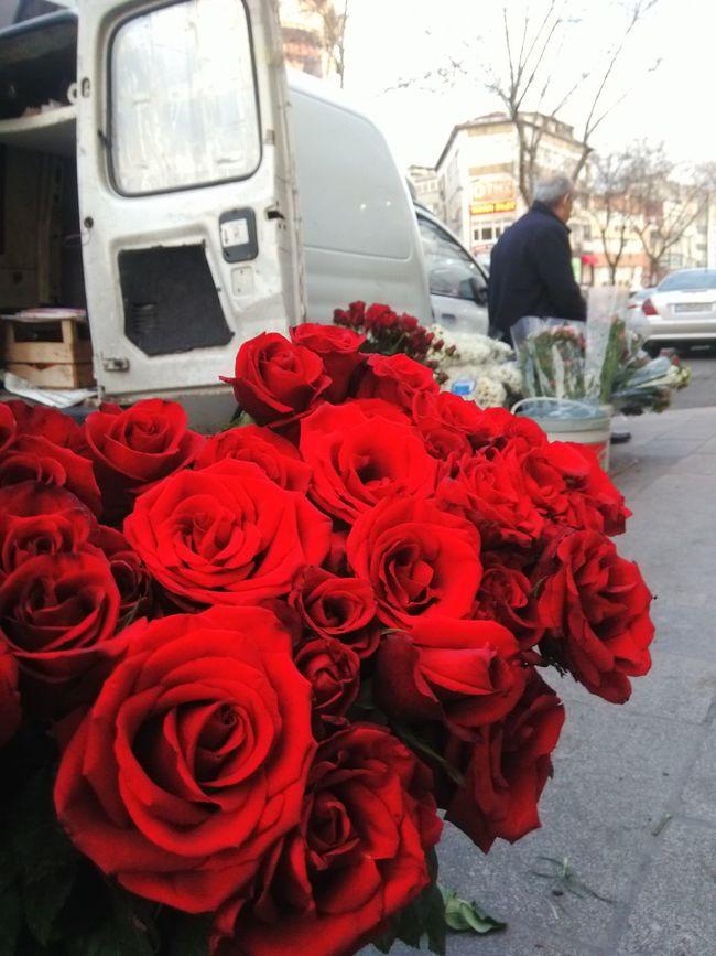 Red Rose 🌹 Beatiful Happy Day☺ Florist ✌✌ Istanbul Turkey First Eyeem Photo