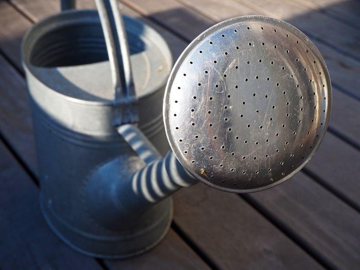 Gardening Metallic Steel Sprinkler Wateringcan Watering Can Watering Water