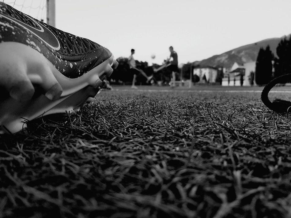 Hanging Out Summer Relaxing Sport Football Black & White Footballislife Football Time