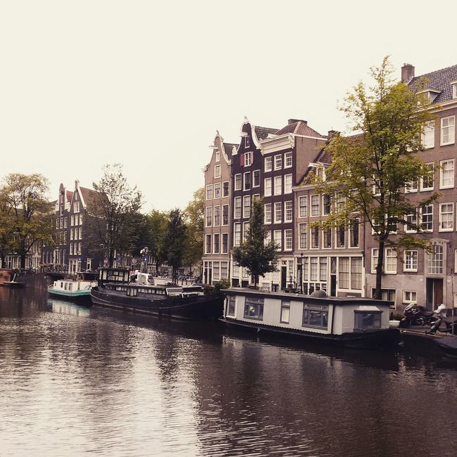 City View  City Life Traveling Dutch Canals Canals And Waterways