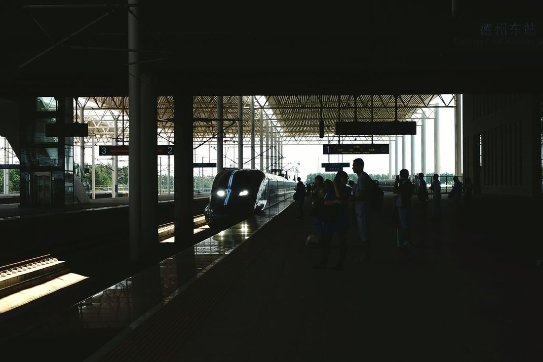 China Photos Public Transportation Train Platform Approach Darkness And Light Taking Photos Railway Travel Streamzoofamily