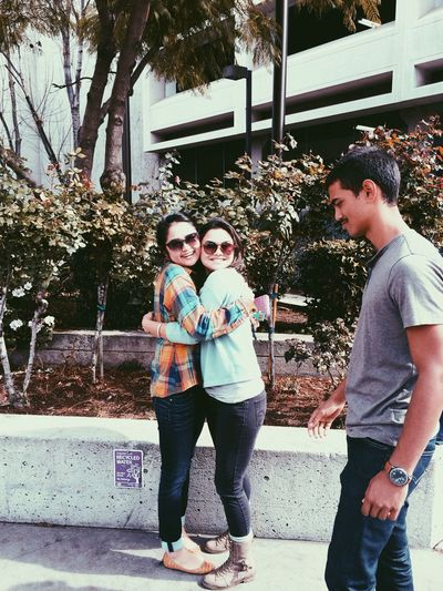 Togetherness Photobomb Enjoying Life Friends ❤ Reunitedanditfeelssogood