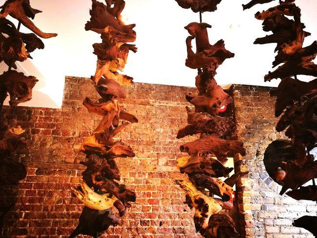 Wood Nandos London Enfieldtown Hanging Out